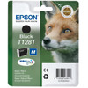 Epson T1281 Ink Cartridge Black (Zwart) - 1