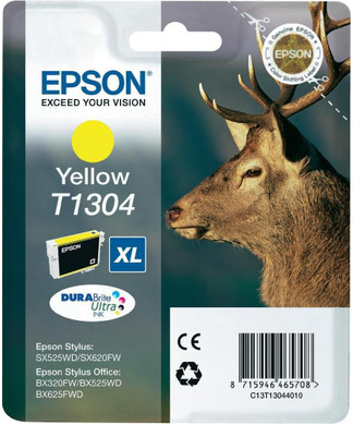 Epson T1304 XL Ink Cartridge Yellow (Geel) C13T130440