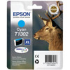 Epson T1302 XL Ink Cartridge Cyan (Blauw) 13024010