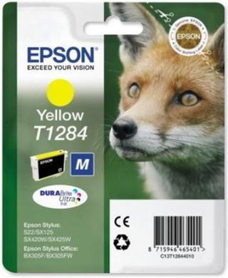 Epson T1284 Ink Cartridge Yellow (Geel) C13T12844011