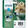 Epson T1282 Ink Cartridge Cyan (Blauw) C13T12824011