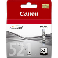 Canon CLI-521BK Black Ink Cartridge (zwart) (2933B001)