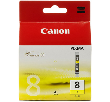 Canon CLI-8Y Yellow Ink Cartridge (geel) (0623B001)
