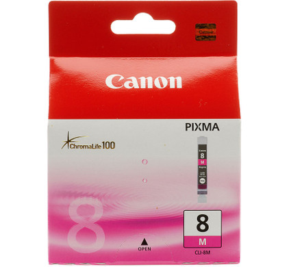 Canon CLI-8M Magenta Ink Cartridge (rood) (0622B001)