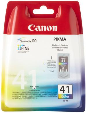 Canon CL-41 Color Ink Cartridge (kleur) (0617B001)