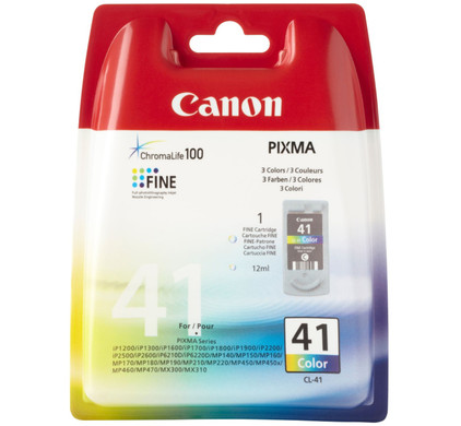 Canon CL-41 Color Ink Cartridge (kleur) (0617B001)