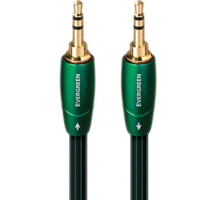 AudioQuest Evergreen 3,5 mm naar 3,5 mm 0,6 meter
