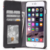 Leather Wallet iPhone 6 Plus/6s Pl Zwart
