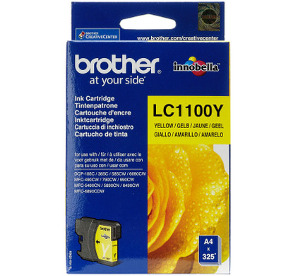 Brother LC-1100Y Yellow (geel)
