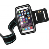 Mobiparts Sportarmband Size Apple iPhone 6 Plus/6s Plus Zwart