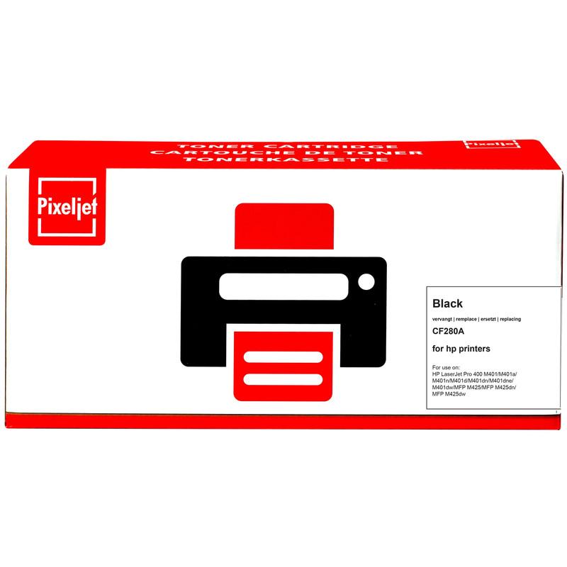 Pixeljet Hp 80a Toner Zwart (cf280a)