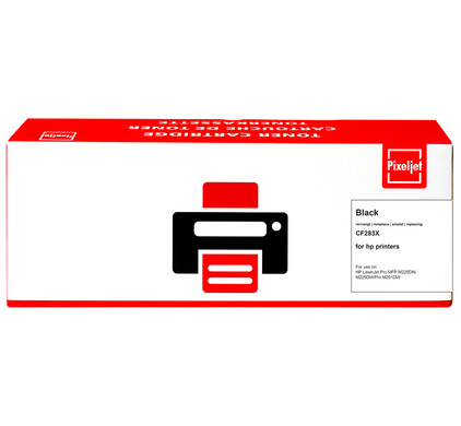 Pixeljet 83X Toner Zwart (CF283X)