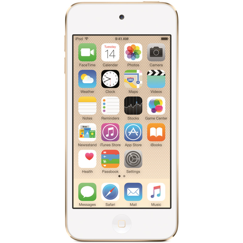 iPod Touch, 16 GB, Goud