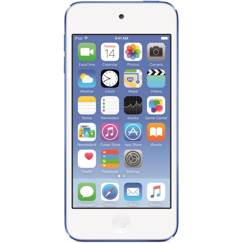 iPod Touch, 16 GB, Blauw