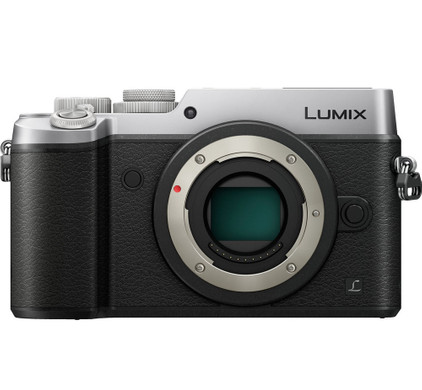 Panasonic Lumix DMC-GX8 body zilver