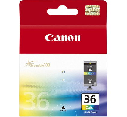 Canon CLI-36 Color Ink Cartridge (kleur) (1511B001)