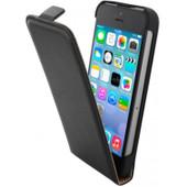 Mobiparts Essential Flip Case Apple iPhone 5/5S/SE Zwart