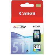 Canon CL-511 Medium Color Ink Cartridge (kleur) (2972B001)