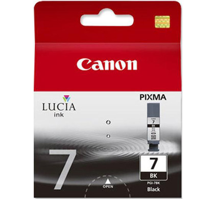 Canon PGI-7BK Black Ink Cartridge (Zwart) (2444B001)