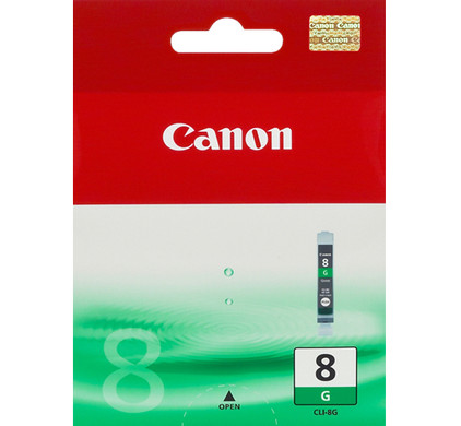 Canon CLI-8G Green Cartridge + Fotopapier 10 x 15 (100 vel)