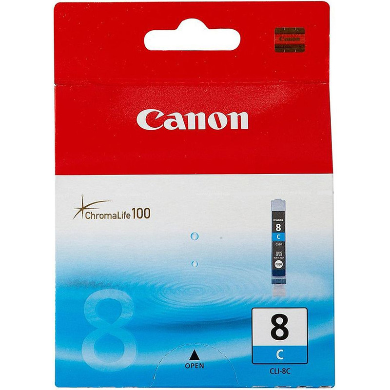 Canon Cli-8c Cyan Ink Cartridge (blauw) (0621b001)