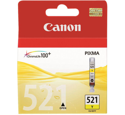 Canon CLI-521Y Yellow Ink Cartridge (geel) (2936B001)