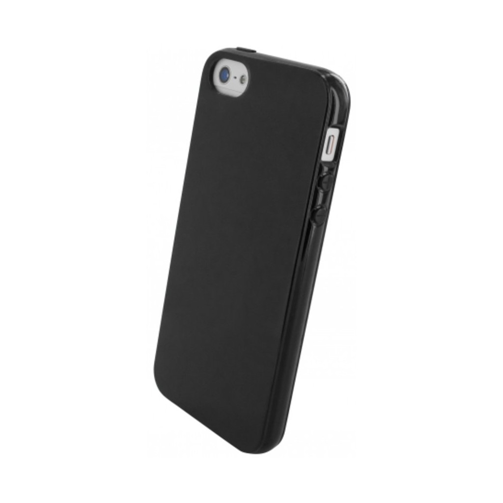 Mobiparts Essential TPU Case Apple iPhone 5-5S Black
