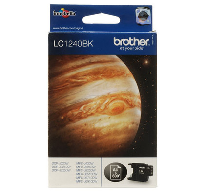Brother LC-1240BK Black (zwart)