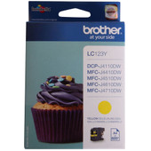 Brother LC-123Y Yellow (geel)