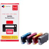 Huismerk HP 364 Cartridge 4-Kleuren XL (Pixeljet - J3M83AE)