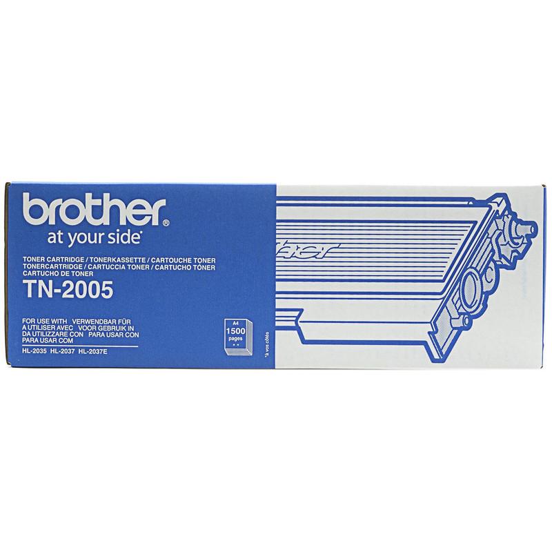 Brother Tn-2005 Toner Black (zwart)