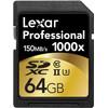 Lexar SDXC Pro 64GB 1000X UHS2 - 1