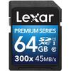 Lexar SDXC Premium 64GB 300X UHS1