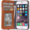 Leather Wallet Apple iPhone 6/6s/7 Brown - 1