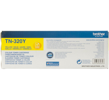 Brother TN-320Y (Geel)