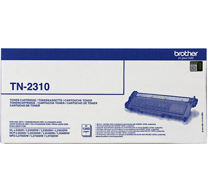 Brother TN-2310 Toner Zwart