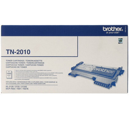 Brother TN-2010 Toner Black (zwart)