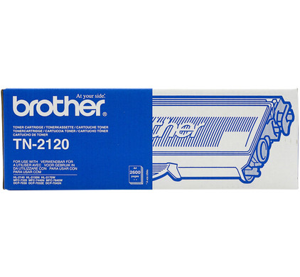 Brother TN-2120 Toner High Capacity (zwart)
