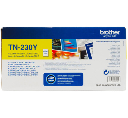 Brother TN-230Y Toner Yellow (geel)