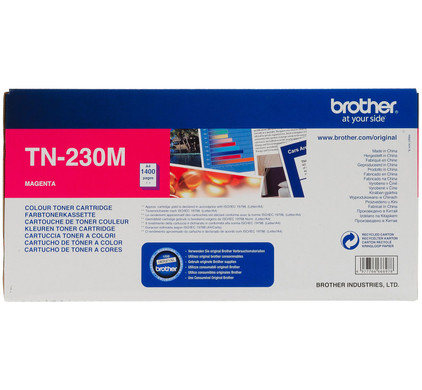Brother TN-230M Toner Magenta (rood)