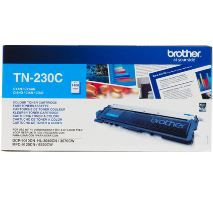 Brother TN-230C Toner Cyan (blauw)
