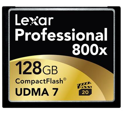Lexar Professional UDMA CompactFlash kaart 128 GB
