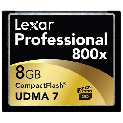 Lexar Professional UDMA CompactFlash kaart 8 GB