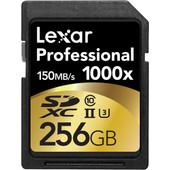 Lexar SDXC Pro 256GB 1000X UHS2