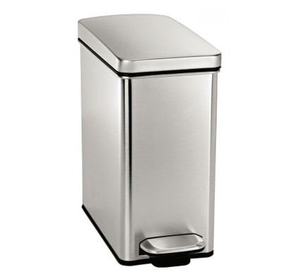 Simplehuman Profile Brushed FPP 10 Liter RVS