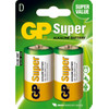 GP Super Alkaline D Mono grote staaf, blister 2