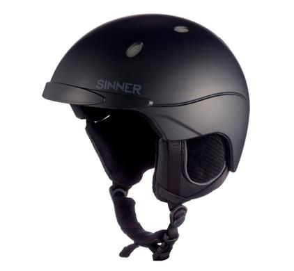 Sinner Titan - Skihelm - Unisex - XXL / 65-66 cm - Zwart
