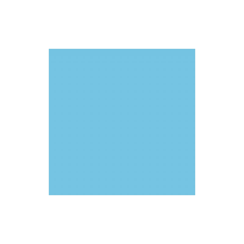 Falcon Eyes Achtergrondpapier 75 Sky Blue 1 35 X11m