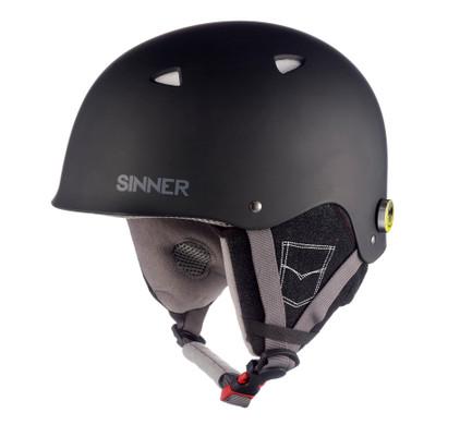 Sinner The Magic - Skihelm - Junior - 51-52 cm / XXS - Zwart