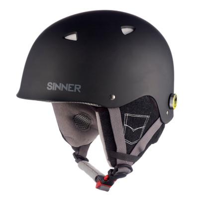 Sinner The Magic Jr. - Skihelm - Kinderen - XS / 53-54 cm - Zwart